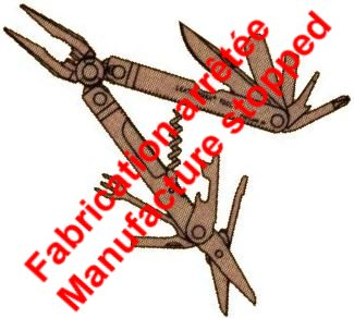 Leatherman Flair - Fabrication arrêtée - Manufacture stopped